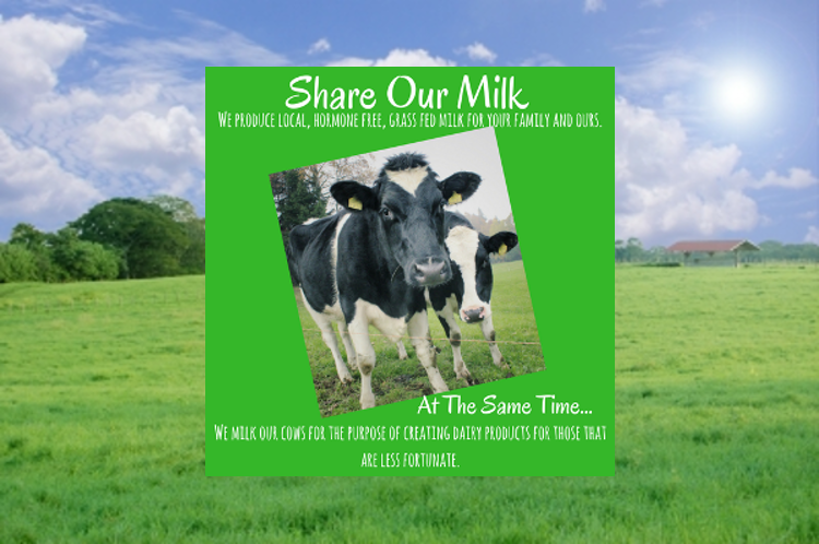 Share Our Milk!